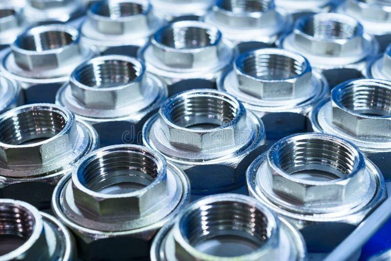 Encaixes da conexão do encanamento para as tubulações plásticas imagens de stock