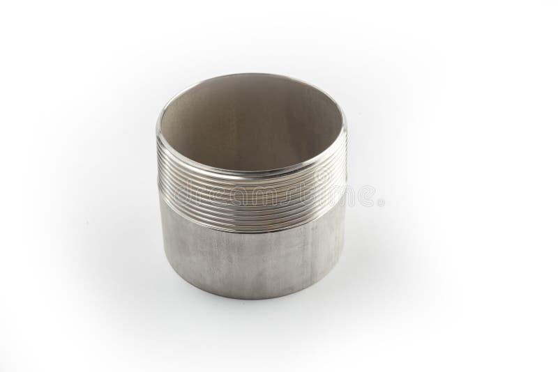 Encaixes da válvula da água do metal imagem de stock