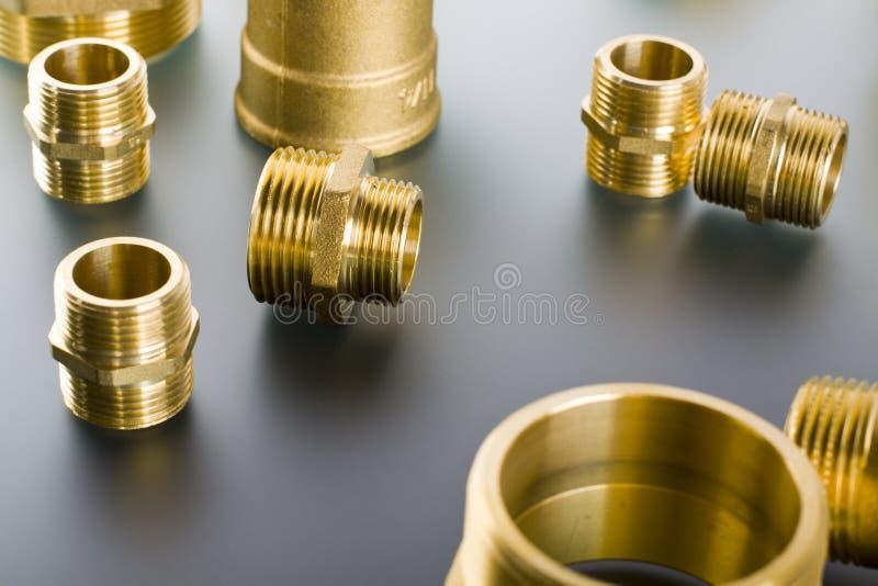 Encaixes de bronze foto de stock royalty free