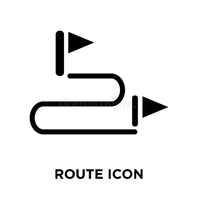 Encamine el vector del icono aislado en el fondo blanco, concepto del logotipo de ilustración del vector