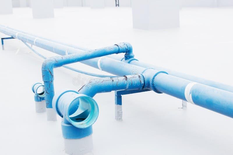 Encanamento da água fotografia de stock