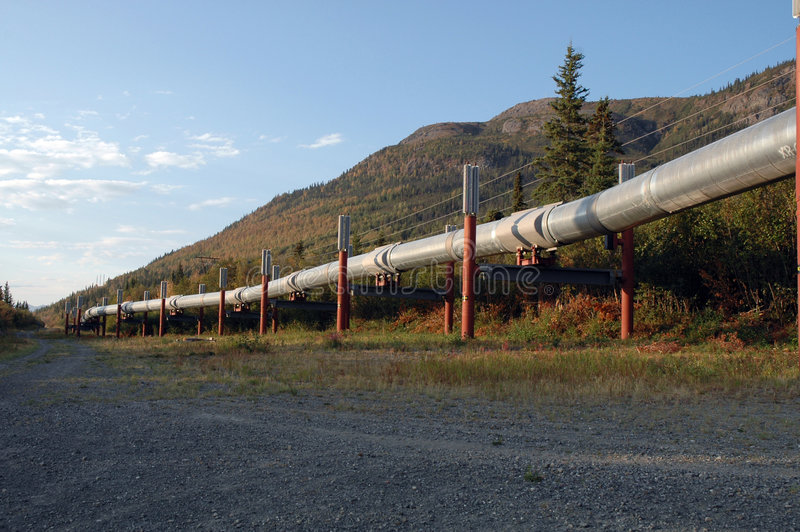 Encanamento do Alasca imagens de stock royalty free