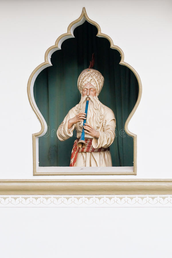 Encantador de serpente persa fotografia de stock royalty free