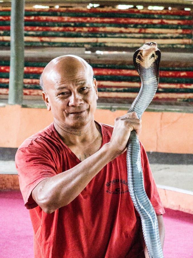 Encantador de serpiente fotos de archivo