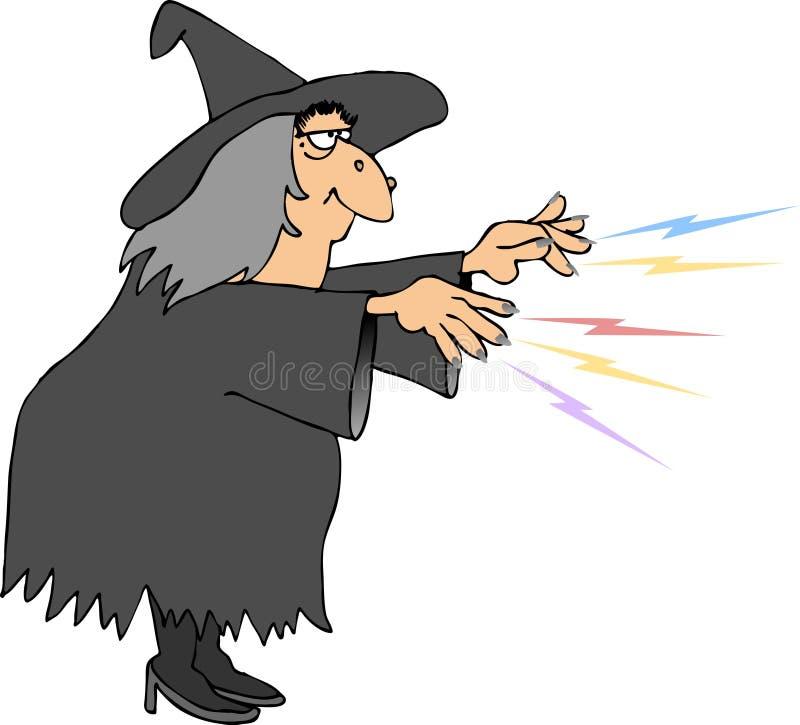 Encanto das bruxas ilustração stock