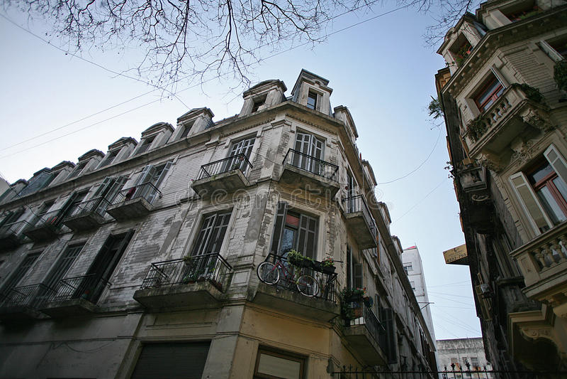 Encanto de carriles en Buenos Aires fotos de archivo libres de regalías