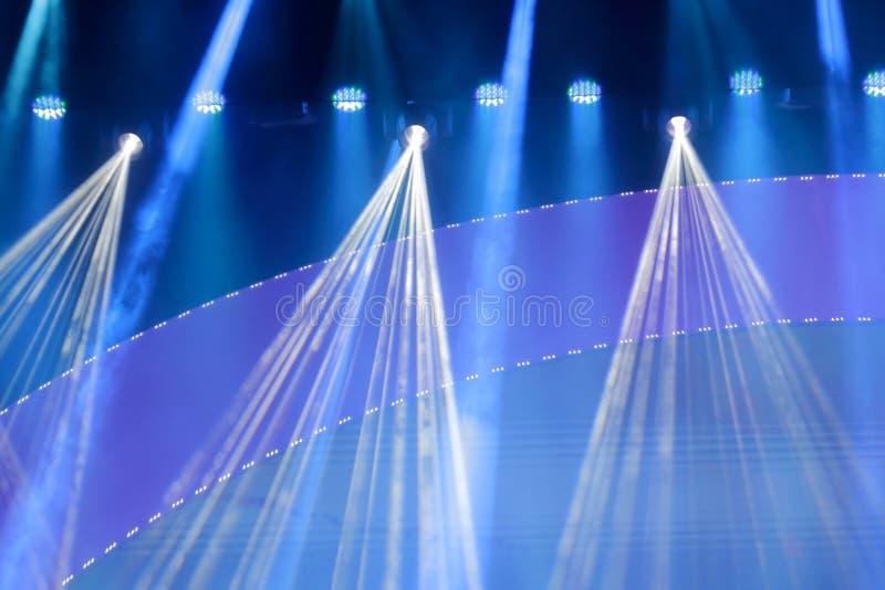 Encene luzes fotografia de stock