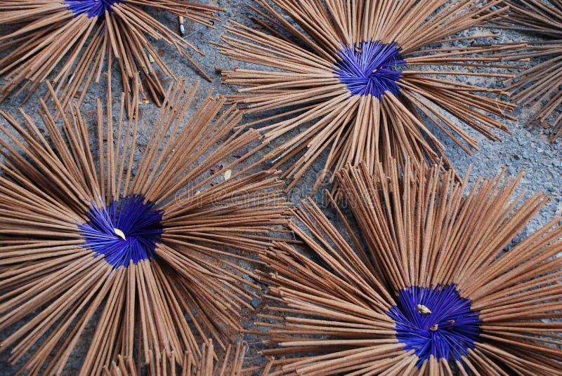 Encens bleu photos libres de droits