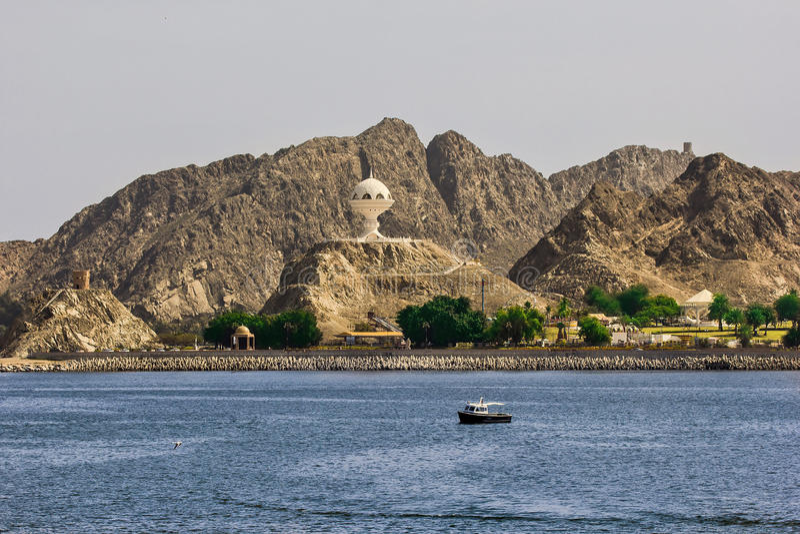 Encensoir chez Muttrah Corniche Oman photo stock
