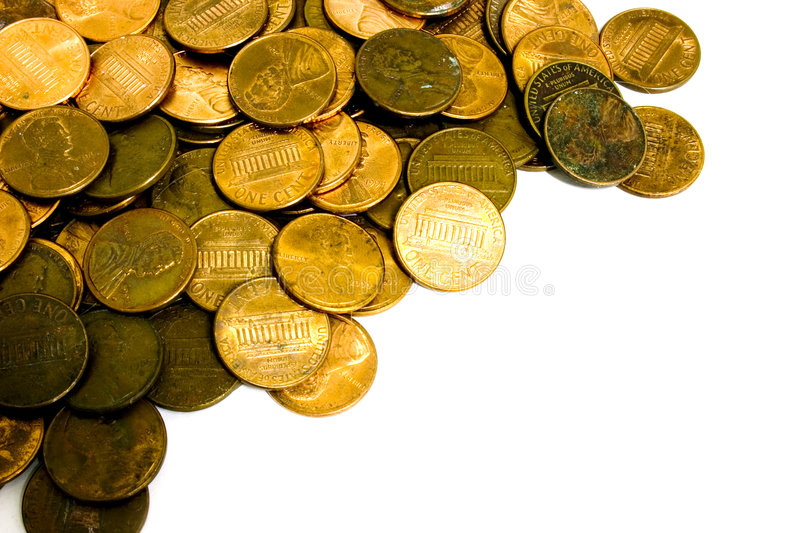 Download Encentmynt arkivfoto. Bild av finansiellt, huvud, funds - 44042