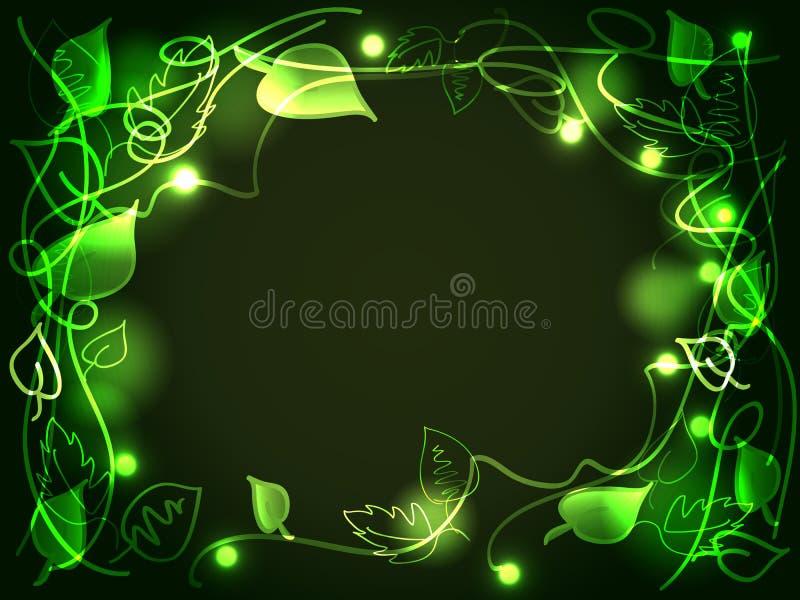 Enchanted forest vector illustration