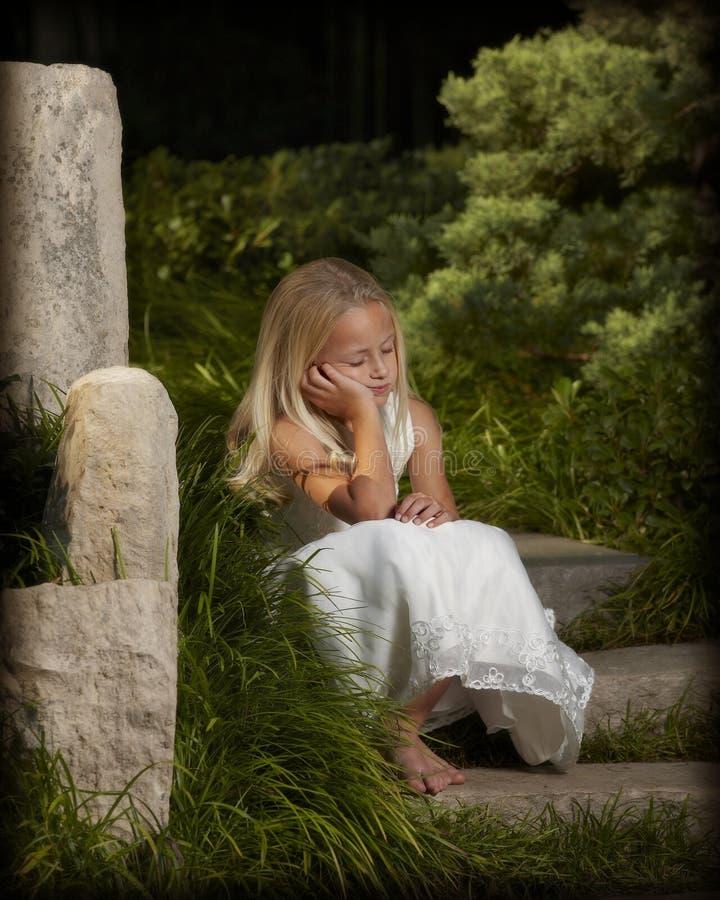 Enchanted Garden Stock Image