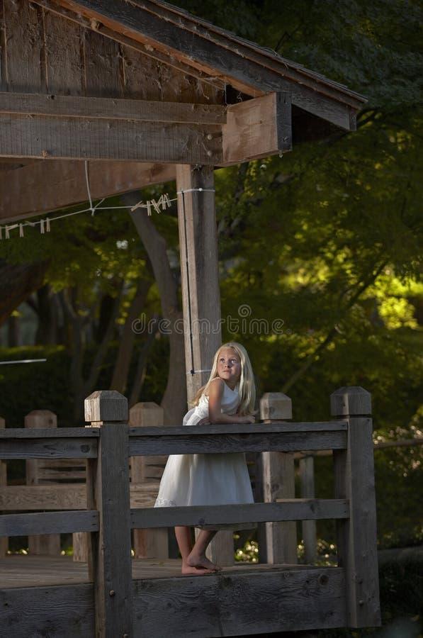 Enchanted garden stock photography