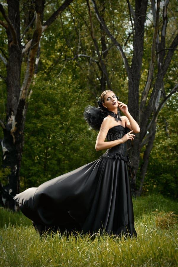Enchanted lady stock photo