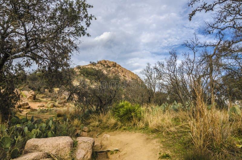 Enchanted Rock Texas Stock Photo