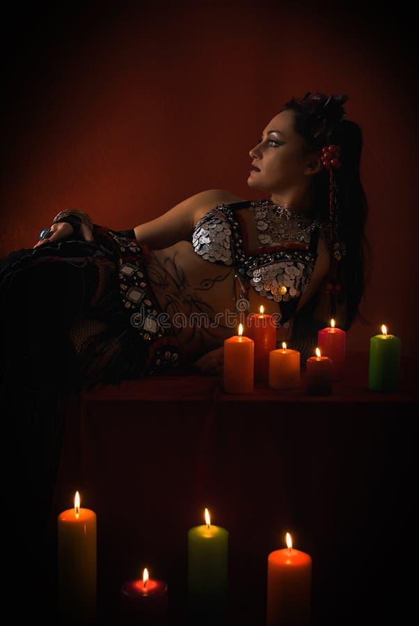 Enchanteresse photo stock