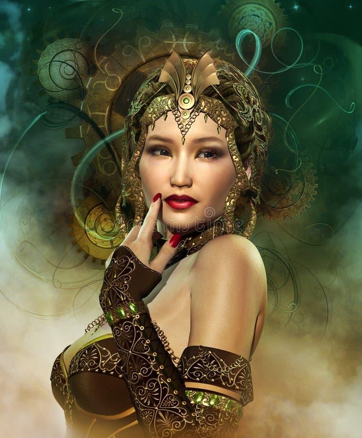 Enchantress ilustracja wektor