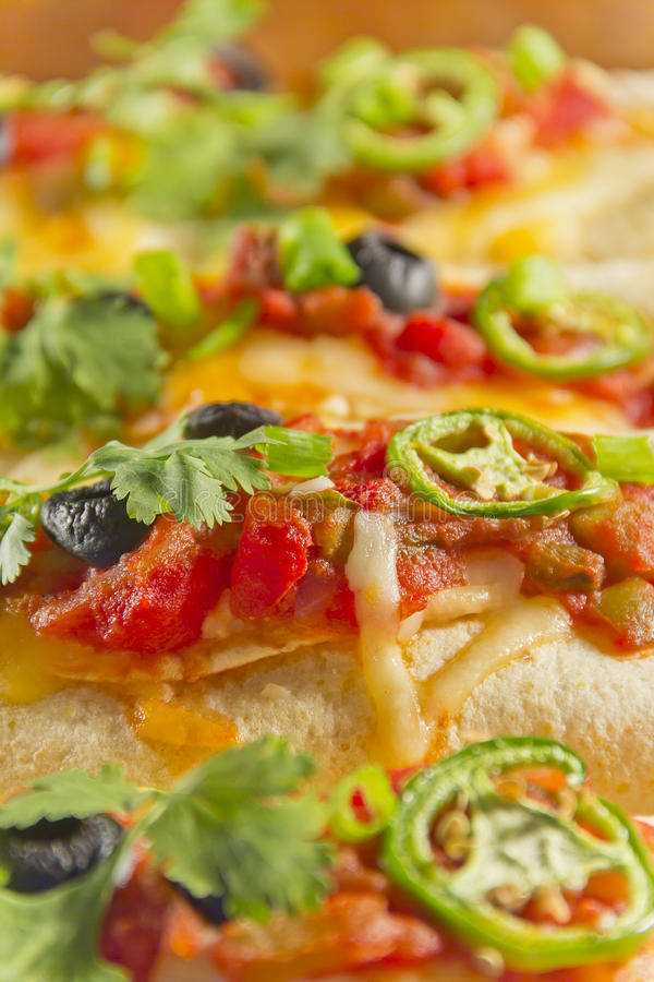 Enchilada-Kasserolle lizenzfreie stockfotos