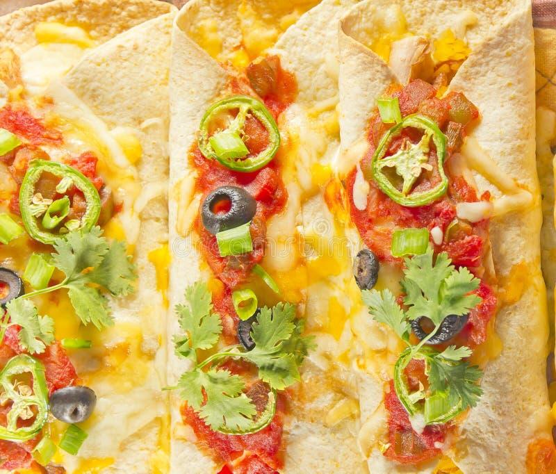 Enchilada-Kasserolle stockbild
