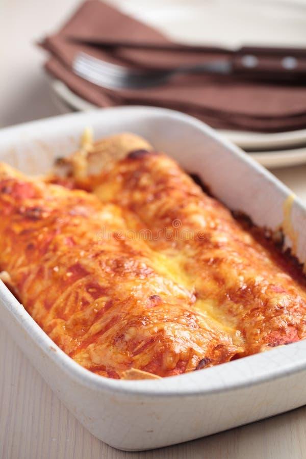 Enchiladas royalty free stock images