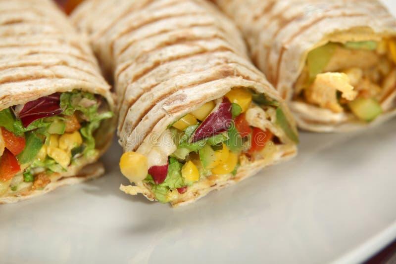 enchiladas stock foto's