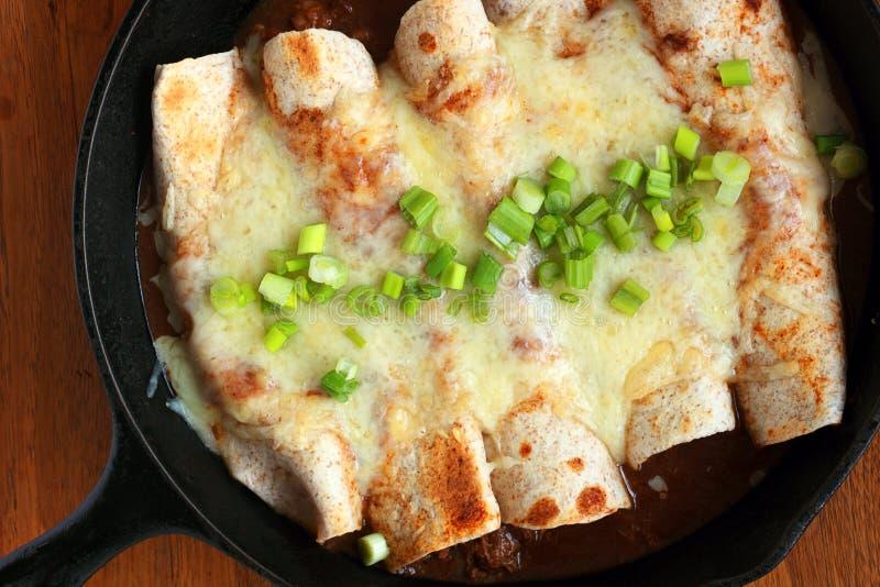 enchiladas stockbild