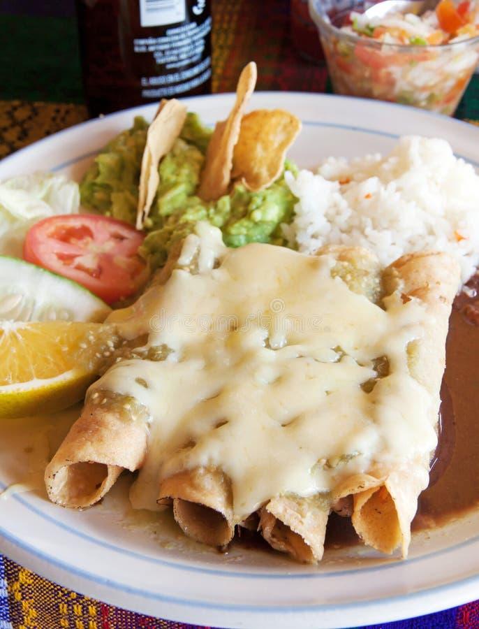 Enchiladas royalty free stock photo