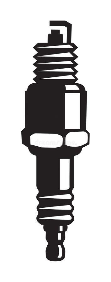Enchufe de chispa ilustración del vector