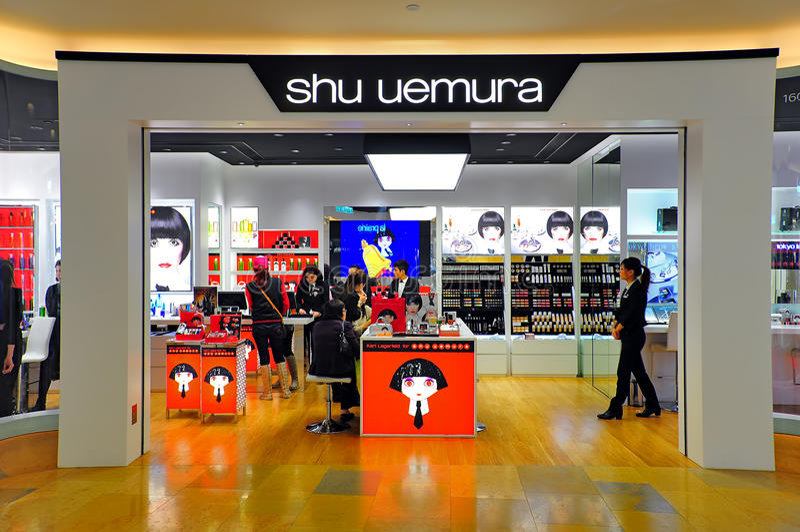 Enchufe del uemura de Shu, Hong-Kong imagen de archivo libre de regalías
