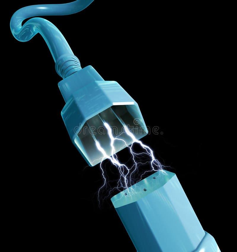 Enchufe eléctrico de la potencia libre illustration