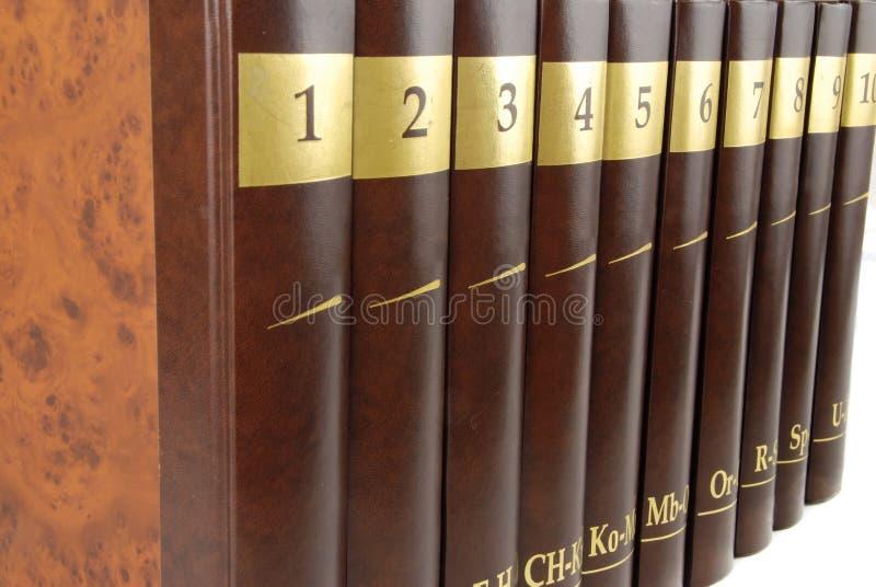 Enciclopedia foto de archivo libre de regalías