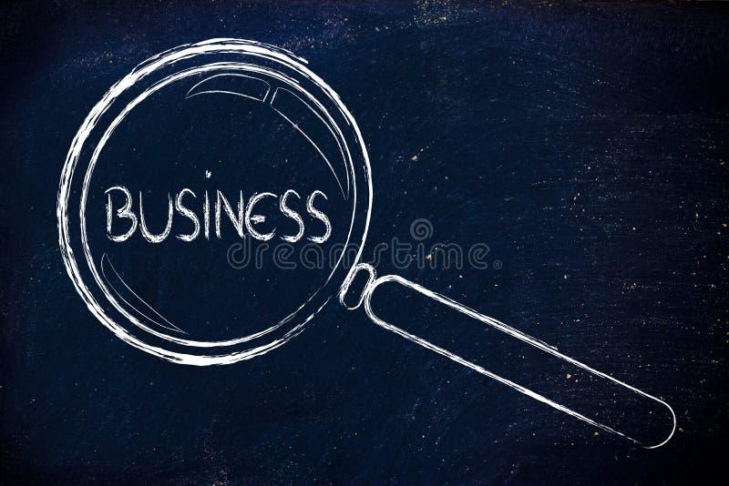 Encontrando oportunidades de negócio foto de stock royalty free