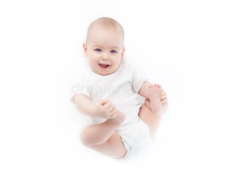 Encontro do bebê fotografia de stock