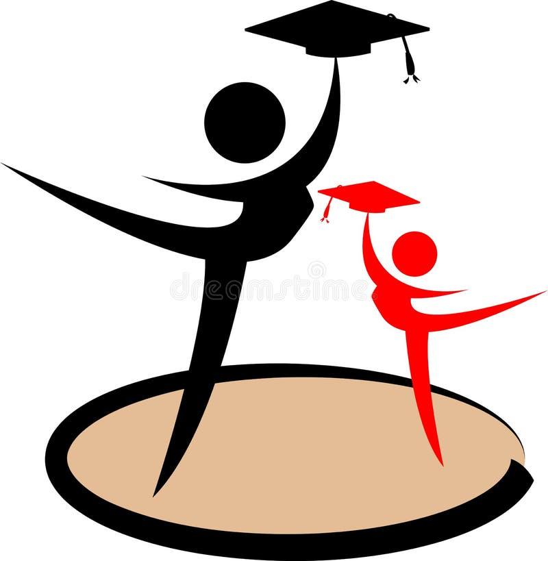 Encontro dos graduados ilustração royalty free