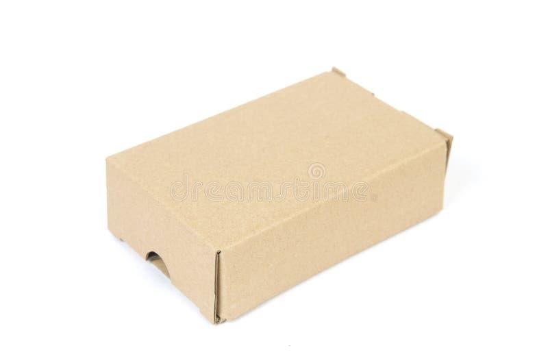 Encontro fechado da caixa de papel fotos de stock