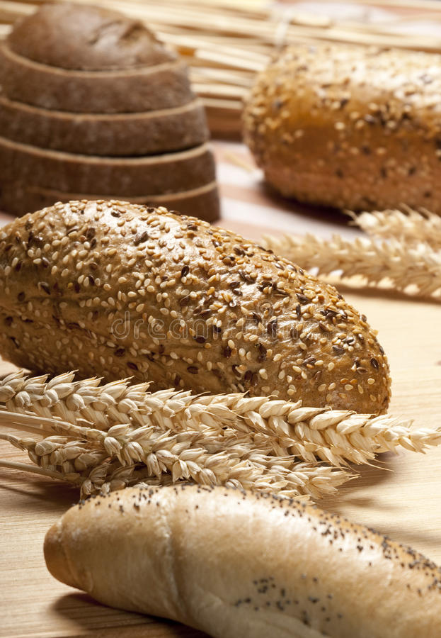 Encore-durée avec du pain image libre de droits