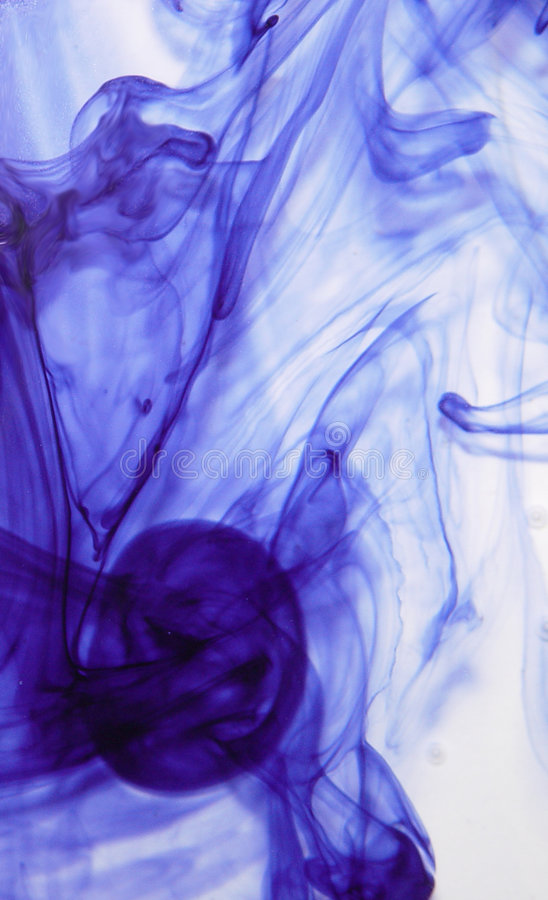 Download Encre abstraite photo stock. Image du bulles, onde, bulle - 80012