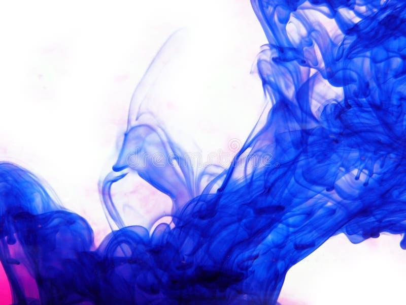 Encre bleue images libres de droits