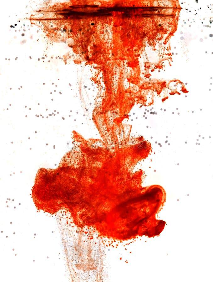 Encre de sang image libre de droits