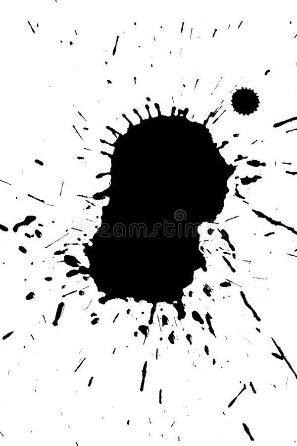 Encre grunge illustration de vecteur