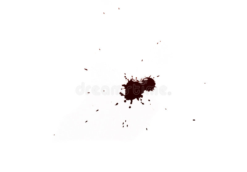 Encre Rouge Photographie stock