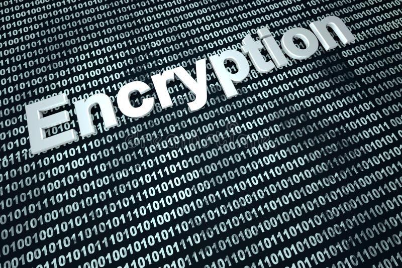 encryptie stock illustratie