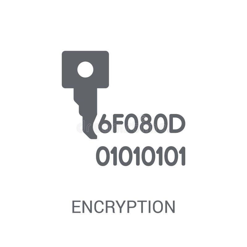Encryptiepictogram  royalty-vrije illustratie
