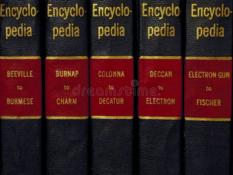 Encyclopédie photographie stock