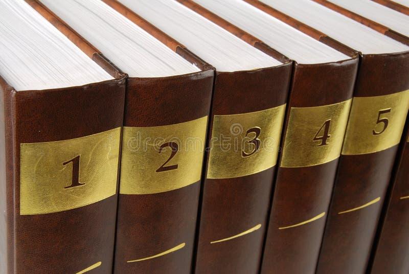 Encyclopedia Stock Photo