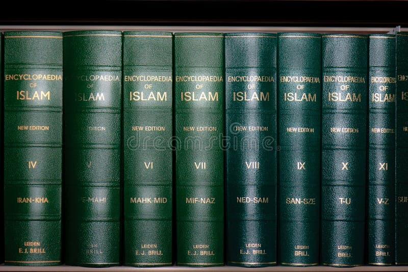 Download Encyclopedia Of Islam Books In Bookshelf Editorial Stock Photo - Image: 22292243