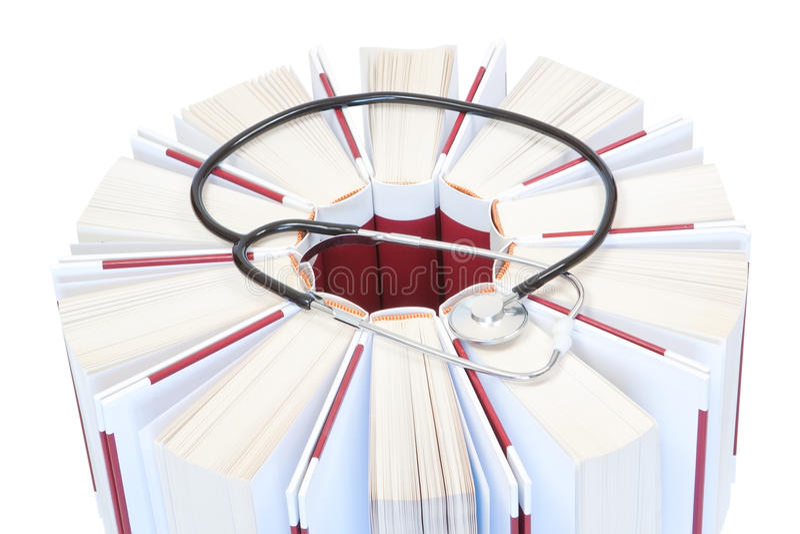 Download Encyclopedias, Books Medical Stethoscope. Stock Image - Image: 25457309