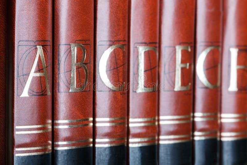 encyclopedie stock fotografie