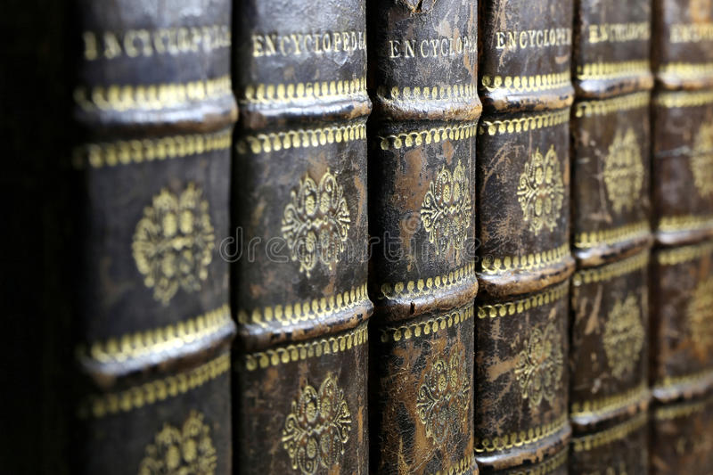 encyclopedie stock fotografie
