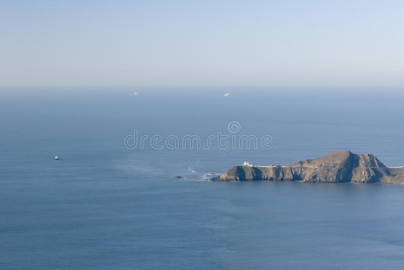 Download End stock image. Image of pacific, panorama, point, cargo - 13040029